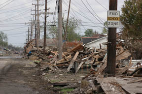New Orleans Devastation1 ©2005 Scott Braley
